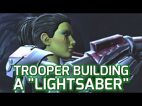 SWTOR: Trooper Constructing a