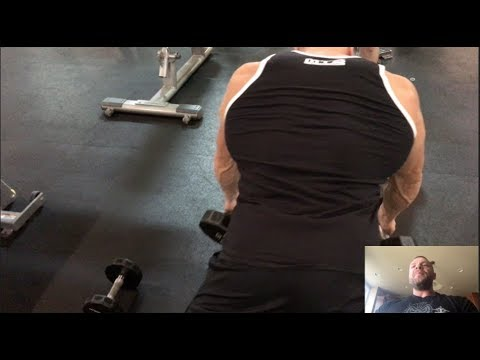 Prone Dumbbell Row For Wide Lats and Shredded Back
