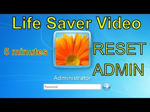 How to reset/remove windows password without any software 100%