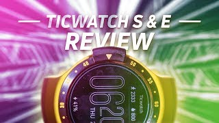 Ticwatch S and E Review - Affordable Android Wear