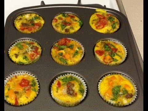 Healthy Vegetable Muffins - Recipe (vegetarianske muffiny)