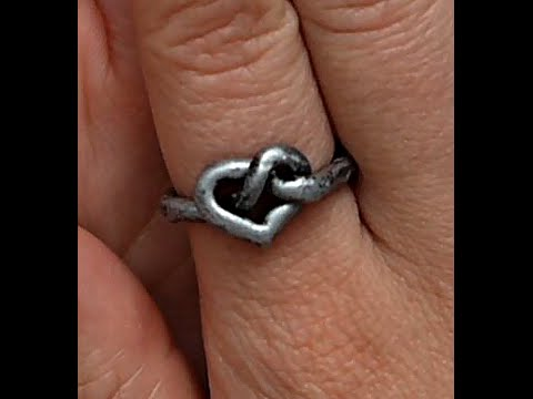 Tutorial: Celtic Heart Ring 1/ Polymer Clay Ring 9 + DIY Cutting Tool