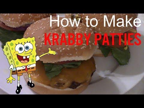 How to Make a Krabby Patty