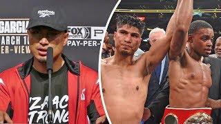 Mikey Garcia * FULL POST FIGHT PRESS CONFERENCE * vs Errol Spence