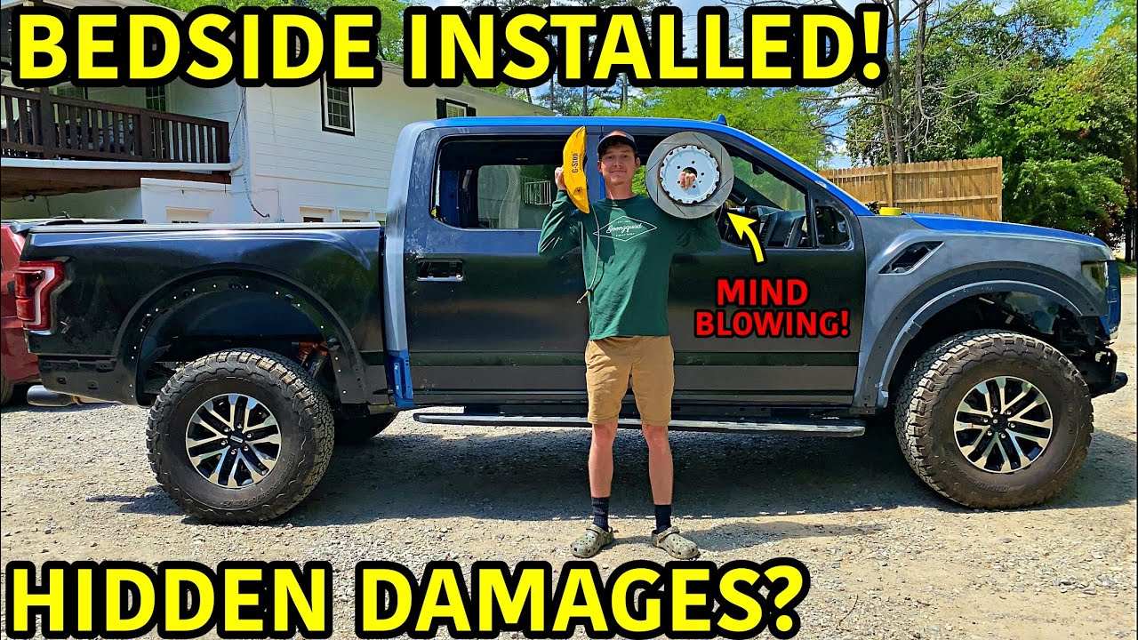 Rebuilding A Wrecked 2019 Ford Raptor Part 8