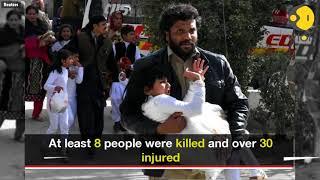 Pakistan: 8 killed in bomb attack on Quetta church