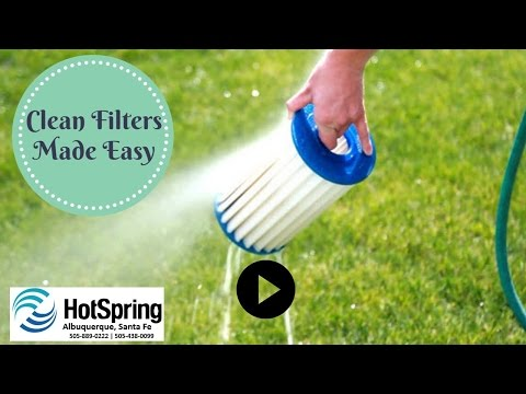 How Do I Clean My Hot Spring Spas Filters? - Hot Tubs Albuquerque