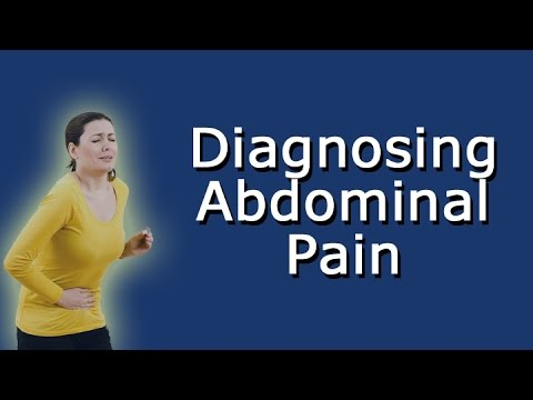 Diagnosing Abdominal Pain