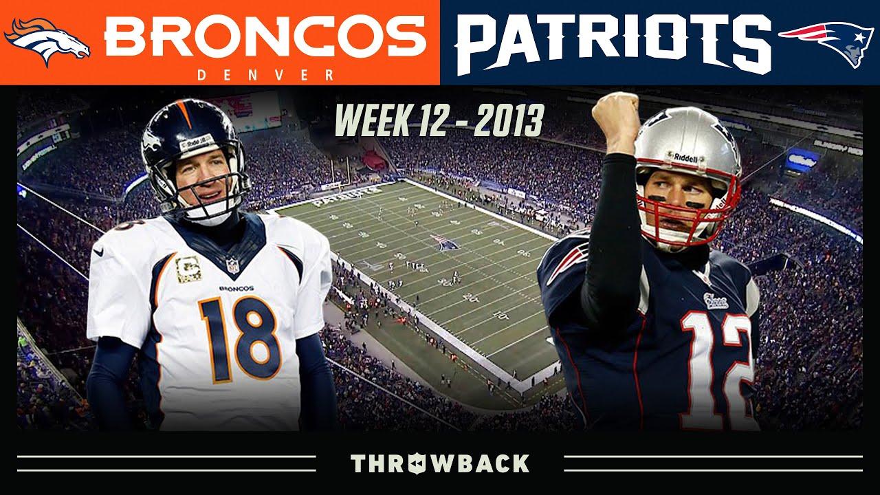 Brady's EPIC 24-Point Comeback vs Manning! (Broncos vs. Patriots Week 12, 2013)