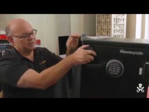 Open a Locked Sentry Electronic Safe in Seconds | Penetration Expert Video