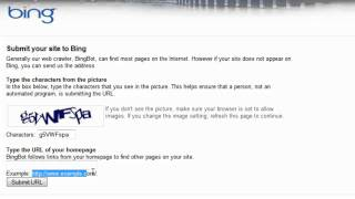 How to submit your url to Bing Search Engine
