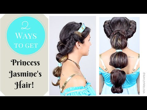 2 Ways to Get Princess Jasmine's Hair