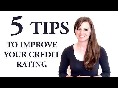 5 Tips to Improve Your Credit Rating (In The UK)