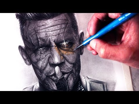 Let's Draw CABLE - DEADPOOL 2 - FAN ART FRIDAY