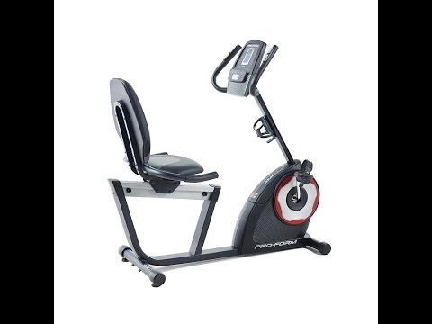 ProForm 460 Recumbent Cycle Bike 21833 Workout Machine - Equipment Unboxing and Assembly