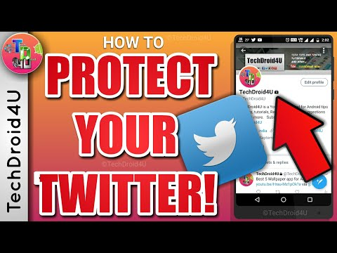 How to Protect Tweets in Twitter | Secure Twitter account | TechDroid4U