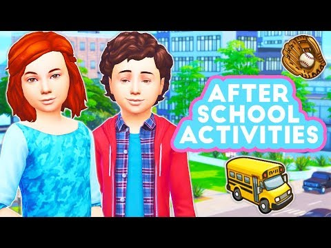 AFTER SCHOOL ACTIVITIES⚽ // THE SIMS 4 | MOD OVERVIEW – BALLET, CHEERLEADING, SOCCER, SWIM + MORE!