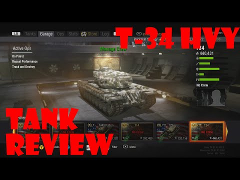 World Of Tanks Xbox 360 - T-34 (Heavy Tank) Review