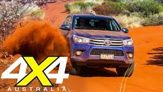 Toyota Hilux Breaks The Canning Stock Route | Road Tests | 4x4 Australia