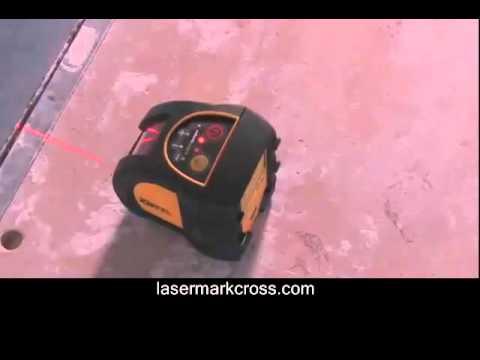 CST - LaserMark 58-MP3 Self-Leveling 3-Beam Laser Plumb Bob
