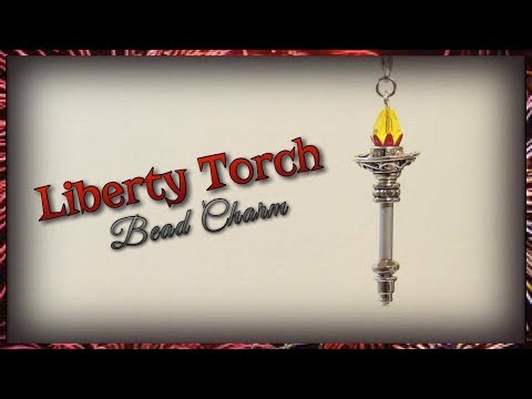 Liberty Torch Bead Charm