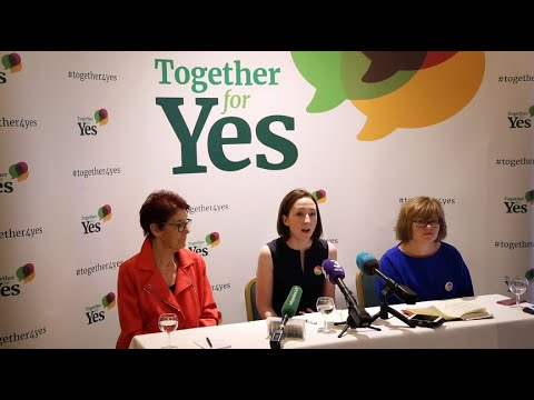 WATCH: 'Ireland has lit a beacon of hope for countries all over the world' - Together for Yes cam...