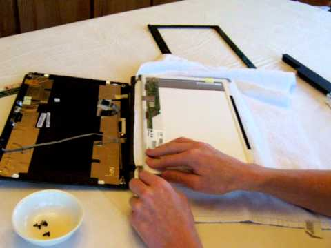Laptop screen replacement / How to replace laptop screen Acer Aspire 5733