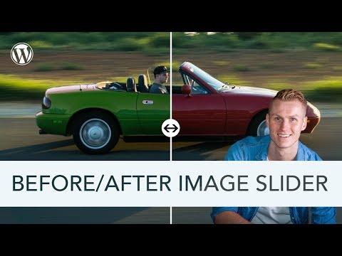 Before After Image Slider Tutorial