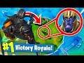 TROLLING THANOS In Fortnite Battle Royale! (Infinity Gauntlet)