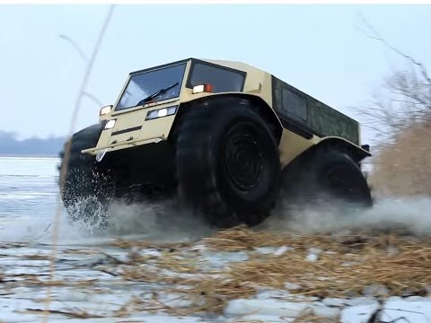 Extreme Off Road Russian Amphibious SHERP Vehicle