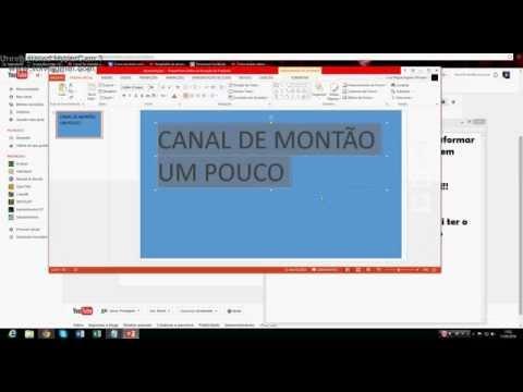 Como transformar um slide power point em imagem png, jpeg