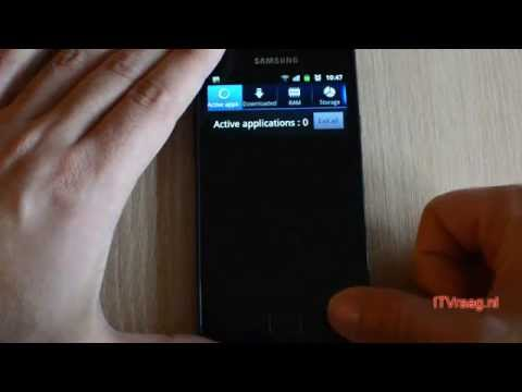 Galaxy S2 - How to close running Apps in the background (task manager)