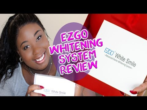 EZGO White Smile Teeth Whitening System Review