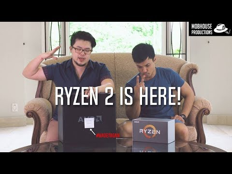 Probably Not The 1st AMD Ryzen 2 Unboxing!