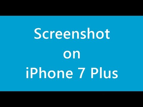 How to Take Screenshot on iPhone 7 Plus, iPhone 7s, iPhone 8, iPhone X