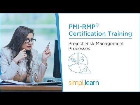 PMI-RMP® Training Videos | Lesson 4: Project Risk Management Processes | Simplilearn