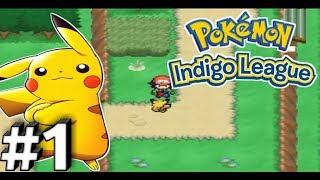Pokemon ash gray indigo league walkthrough