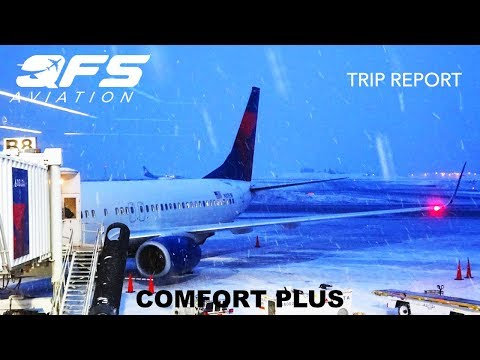 TRIP REPORT   Delta Airlines - 737 800 - Seattle (SEA) to Anchorage (ANC)   Economy Plus