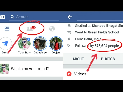 How To increase facebook FOLLOWERS & Get Unlimited FRIEND REQUEST 2017 in Hindi