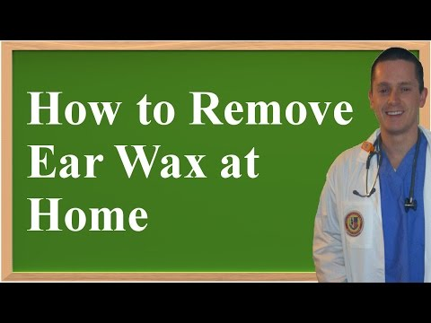 How to Remove Ear Wax at Home (+ Home Remedy)
