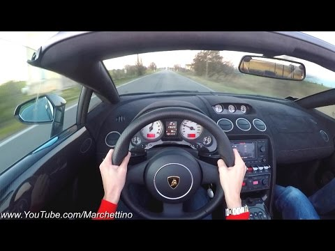 YOU Drive the Lamborghini LP570 Performante FAST! - POV Test Drive
