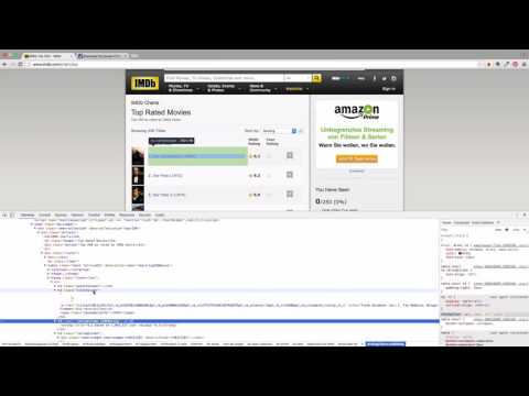Web Scraping with Java: Scrape IMDB Top 250