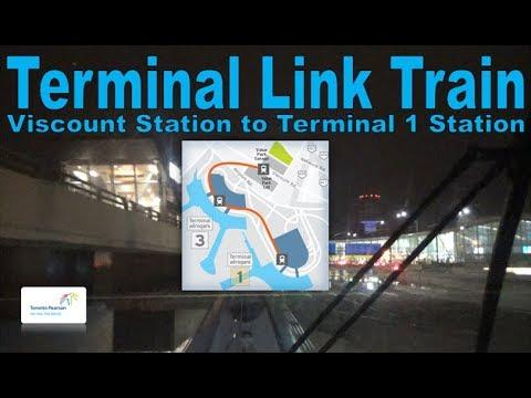 Terminal Link Train - Toronto Pearson Airport 2006 Link Train (Viscount Stn to Terminal 1 Stn )