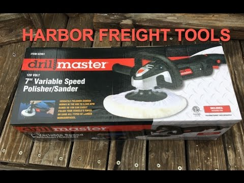 Harbor Freight Drill Master 7