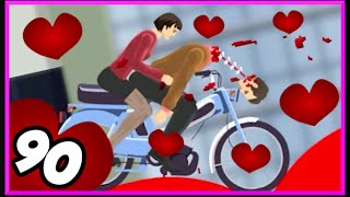 SAN VALENTINO.. DI SANGUE! - Happy Wheels [Ep.90]