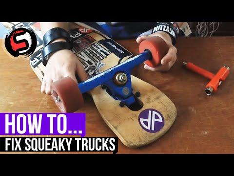 How To... Fix Squeaky Skateboard/Longboard Trucks