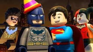 LEGO DC Comics Super Heroes: Justice League: Gotham City Breakout | First 10 Minutes | DC Kids