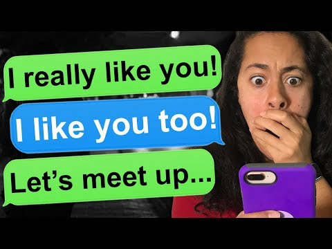 TEXTING A STRANGER ONLINE WHO WANTS TO MEET UP!!!! - Tap | Texting A Stranger