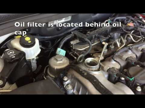 How to Change engine oil: Holden Cruze Diesel turbo 2012