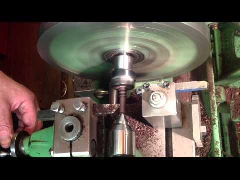 Making Ebony bridge pins in the lathe